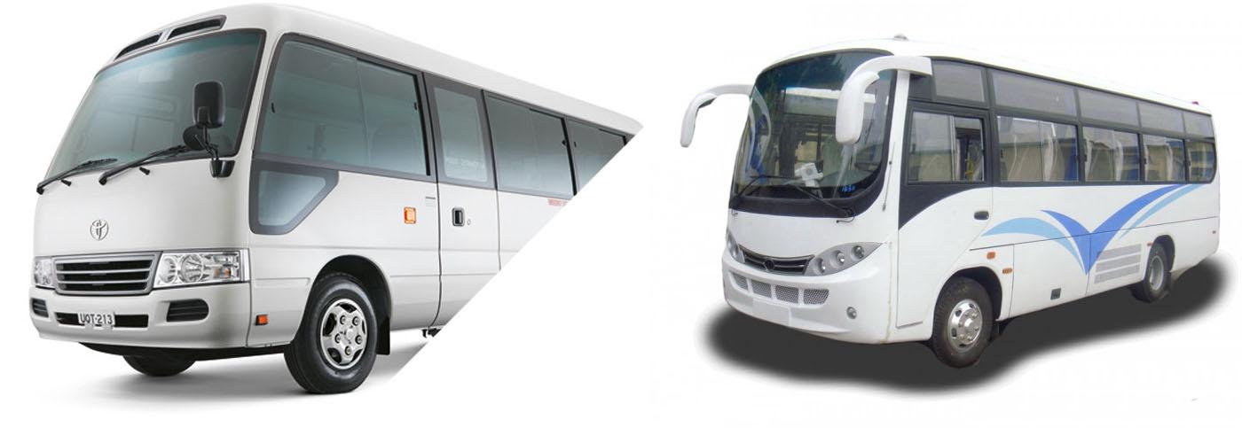 Minibus hire in Nepal