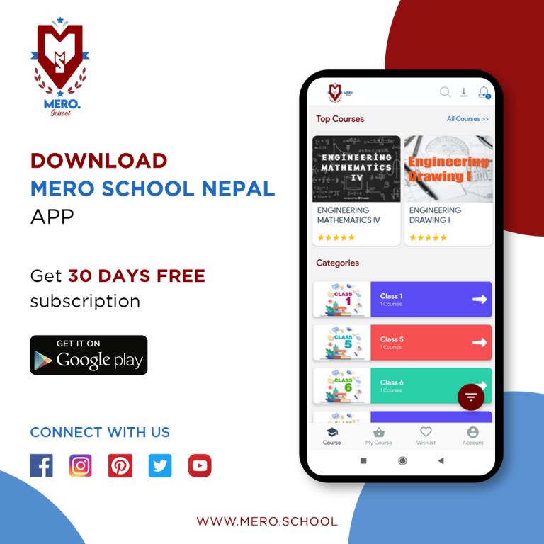 Mero School Online Learning Sites in Nepal 1 768x768