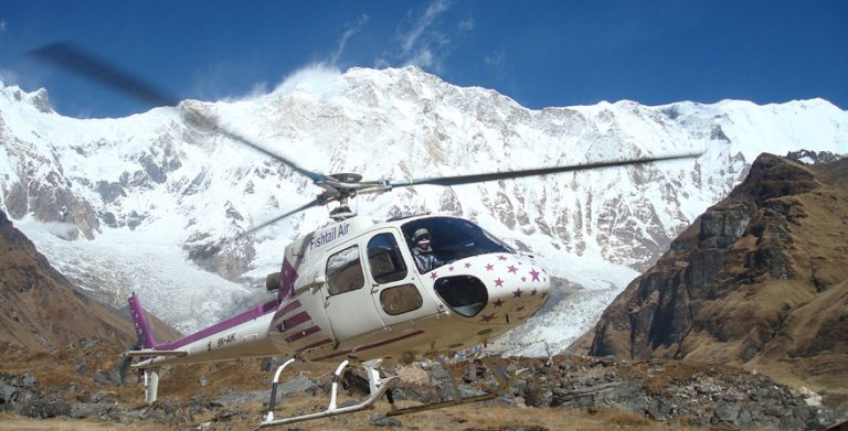 10 days Annapurna Base Camp Trek by Helicopter 768x391